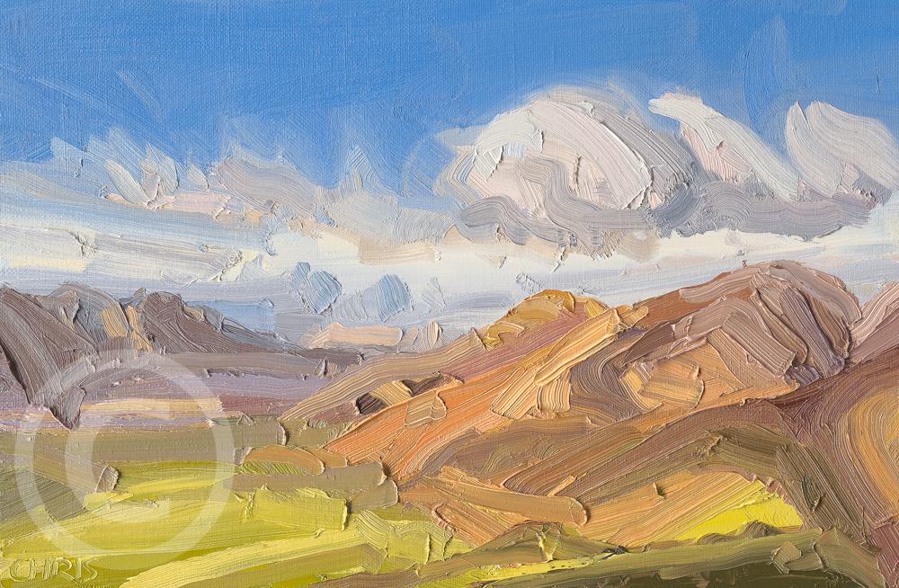 Contemporary Landscape Paintings Chris Mcloughlin